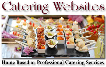 catering website image