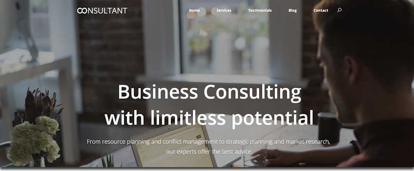 consulting website image